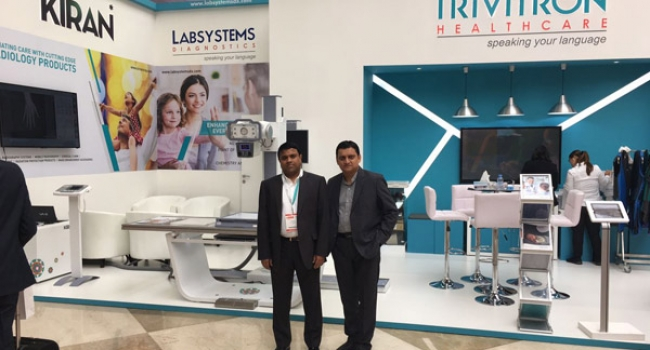 trivitron-healthcare-launches-its-state-of-the-art-ultisys---digital-radiography-system-at-arab-health-2017-dubai