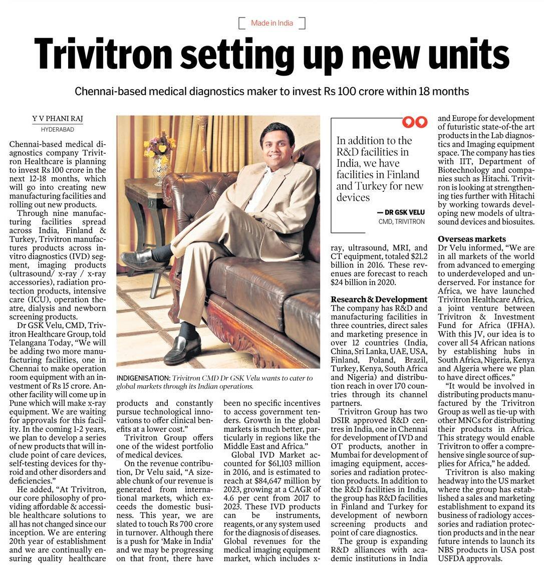 trivitron-setting-up-new-units
