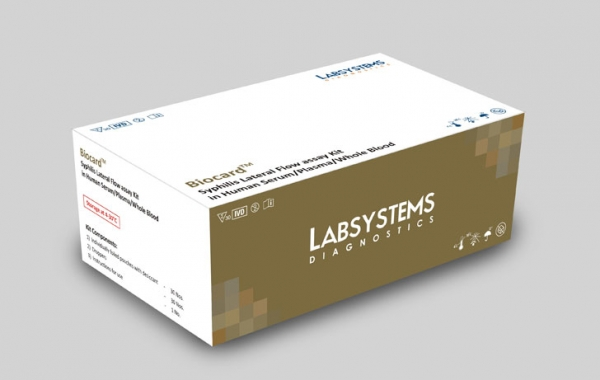 Biocard Syphilis Lateral Flow Assay Kit
